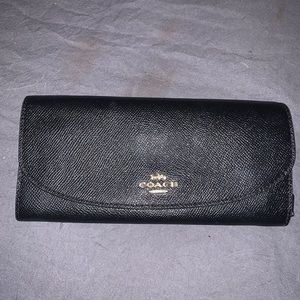 New black coach wallet